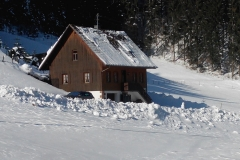 Ferienhaus Bühler im Winter