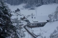 winterliches Tiefenbachtal