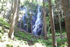 Der Burgbachwasserfall
